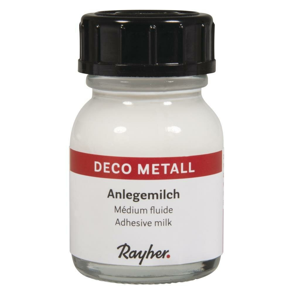 Deco-Metall-Anlegemilch, Flasche 25ml